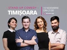 Timișoara: Stand-up comedy cu Ana-Maria Calița, George Tănase, Geo & Luiza