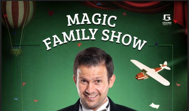 Magic Family Show cu Magicianul Robert Tudor