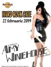 Amy Winehouse la Hard Rock Cafe