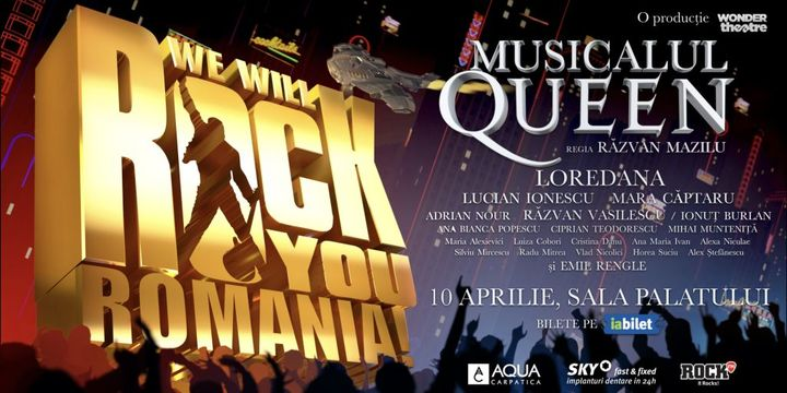 MAREA PREMIERA: Musicalul Queen: We Will Rock You