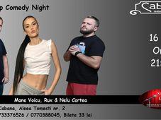 Stand-up Comedy cu Mane Voicu, Rux & Nelu Cortea