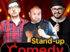 Stand-up cu Fulvio Balboni, Alex Serban si Bogdan Nitu