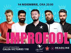 București: ImproFool - Micutzu, Bucălae, Geo, Claudiu Popa & Catalin Coșarcă