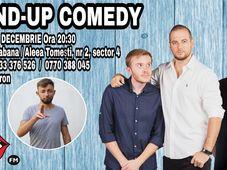 Stand Up Comedy cu Adi Bobo, Ionut Rusu & Andrei Ciobanu