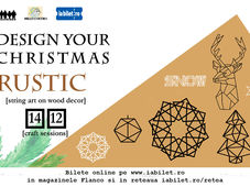 Design your Christmas Rustic l Craft sessions