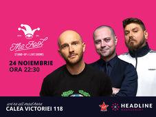 București: Stand-up comedy cu Bordea, Micutzu & Badea 2