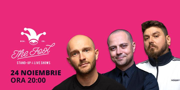 București: Stand-up comedy cu Bordea, Micutzu & Badea