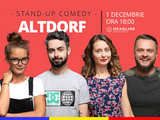Altdorf:  Stand-up comedy cu Ana-Maria Calița, Doina, Bucălae & Cortea
