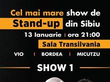 Cel mai mare show de stand-up pe care l-a vazut Sibiul