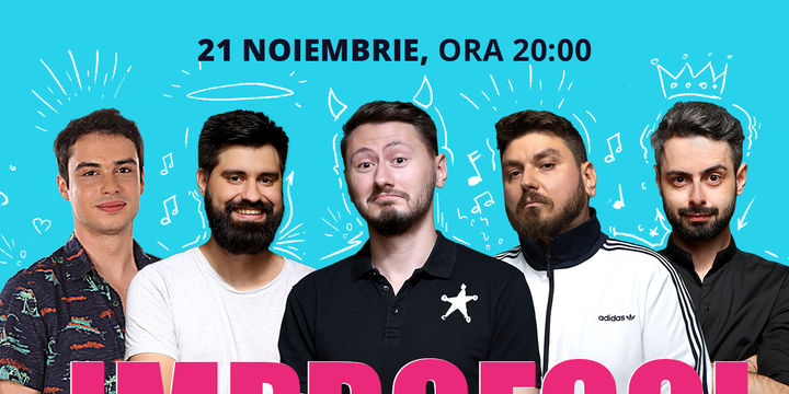 București: ImproFool - Micutzu, Bucălae, Geo, Claudiu & Adrian Nicolae