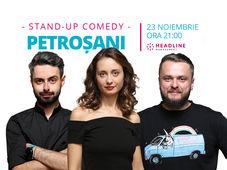 Petroșani: Stand-up comedy cu Ana-Maria Calița, Bucălae & Cortea