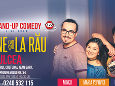 Tulcea: Stand-up Comedy cu Banciu, Mincu si Maria Popovici