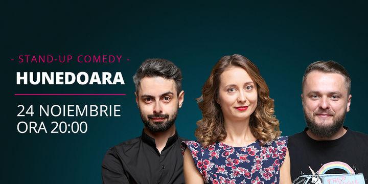 Hunedoara: Stand-up comedy cu Ana-Maria Calița, Bucălae & Cortea