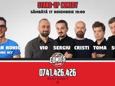 Stand Up - Comedy Jam cu Vio, Sergiu, Toma, Cristi & Sorin