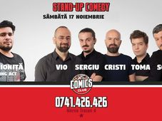 Stand Up - Comedy Jam cu Sergiu, Toma, Cristi & Sorin