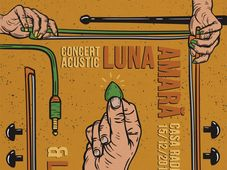 Luna Amara si Les Nuages - concert acustic la Sala Radio Cluj