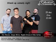 Stand Up Comedy cu Nelu Cortea & Alex Mocanu & Bogdan Dracea & Sergiu Mirica