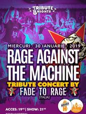 Concert tribut Rage Against The Machine cu  Fade To Rage