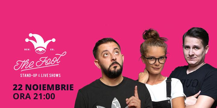București: Stand-up comedy cu Doina Teodoru, Gherghe & Tănase