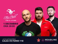 București: Stand-up comedy cu Bordea, Micutzu & Claudiu Popa 1