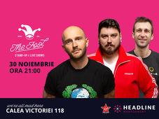 București: Stand-up comedy cu Bordea, Micutzu & Radu Isac