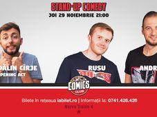 Râzi cu Rusu și Andrei la Comics Club
