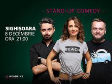 Sighișoara: Stand-up comedy cu Ana-Maria Calița, Bucălae & Cortea
