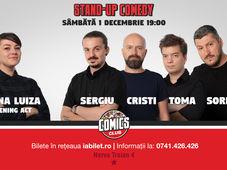 Stand Up Comedy cu Sorin, Sergiu, Toma & Cristi Popesco