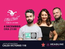 București: Stand-up comedy cu Ana-Maria Calița, Bucălae & Cortea