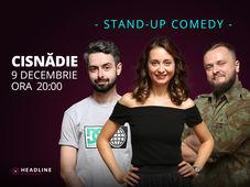 Cisnădie: Stand-up comedy cu Ana-Maria Calița, Bucălae & Cortea