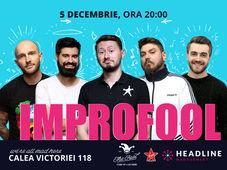 București: ImproFool - Micutzu, Bordea, Geo, Claudiu Popa & Catalin Coșarcă
