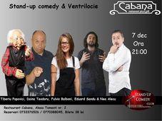 Stand Up Comedy cu Tiberiu Popovici,Doina Teodoru,Eduard Sandu & Fulvio Balboni