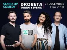 Severin: Stand-up comedy cu Radu Bucălae, Ioana State, Mane & Claudiu