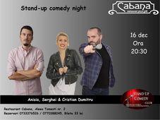 Stand Up Comedy cu Anisia Gafton, Serghei & Cristian Dumitru.