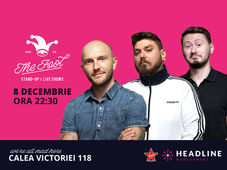 București: Stand-up comedy cu Bordea, Micutzu & Claudiu Popa 2