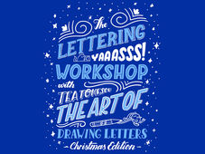 Christmas Lettering Workshop