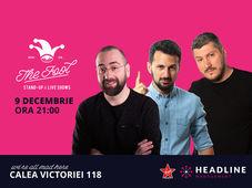 București: Stand-up comedy cu Vio, Sorin & Alex Mocanu