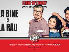 Stand Up Comedy Cu Mincu, Maria și Banciu