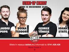 Stand Up comedy cu Claudiu Popa, Doina Teodoru, George Tănase & Ioana State