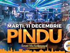 PINDU cântă la Berăria H #SeratăMachedonească