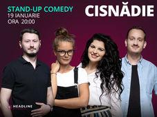 Cisnădie: Stand-up comedy cu Doina Teodoru, Ioana State, Mane & Claudiu
