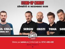 Stand Up Comedy cu Sorin, Sergiu, Toma & Popesco
