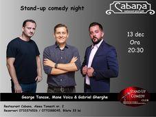 Stand Up Comedy cu George Tanase, Mane Voicu & Gabriel Gherghe