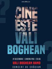 Concert de craciun cu Vali Boghean