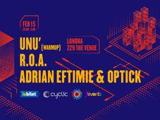 Londra: Concert Roa, Eftimie si Optick