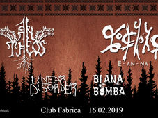 An Theos, E-an-na + Guests Live in Bucharest