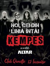 Concert KEMPES - Noi, cei din linia intai