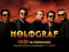 Concert extraordinar HOLOGRAF @ Iasi