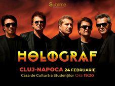Concert extraordinar HOLOGRAF @ Cluj-Napoca