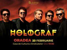 Concert extraordinar HOLOGRAF @ Oradea